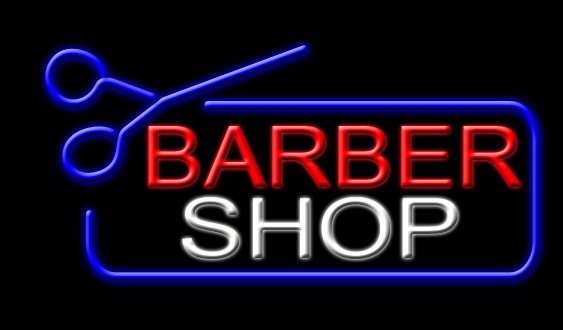 San Diego haircut barber shop by Violeta